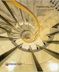 Koncernen Probitas Årsredovisning 2014
