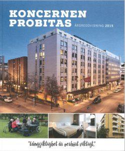 Koncernen Probitas Årsredovisning 2015